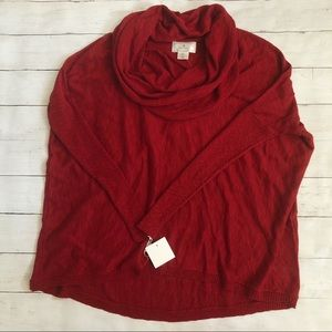 Ruby Moon NWT's women's size small cowl neck